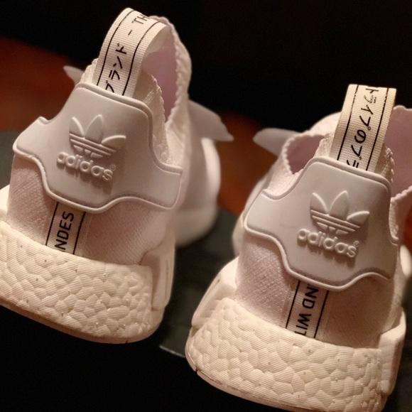Adidas Shoes Nmd R1 Pk Japan Boost Triple White Poshmark